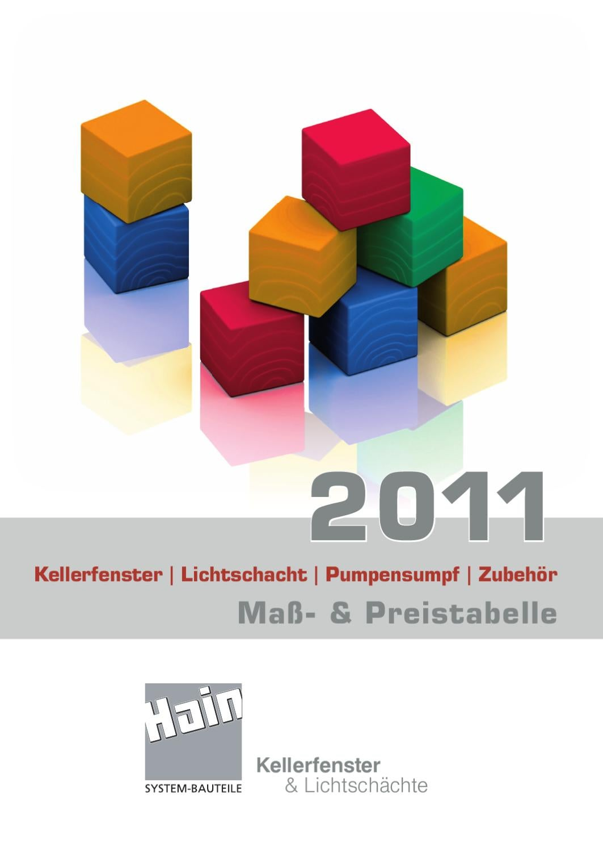 hain systembauteile preisliste 2011 by max brunner - issuu