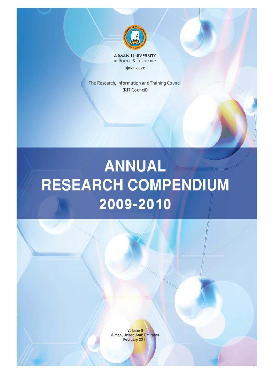 research-compendium-vol-6-en by Ajman University - issuu