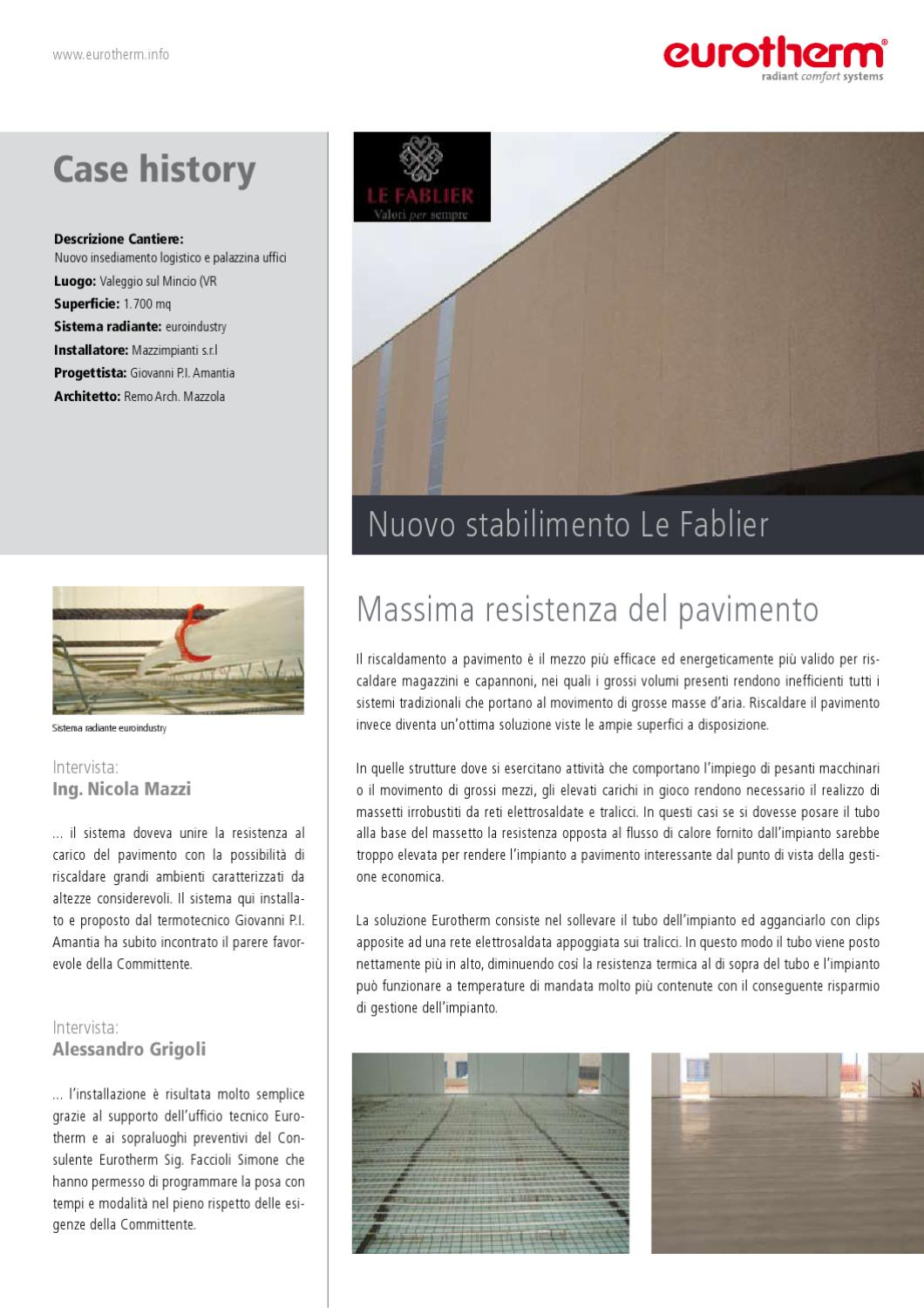 Come Riscaldare Ambienti Grandi case history by eurotherm s.p.a. - issuu