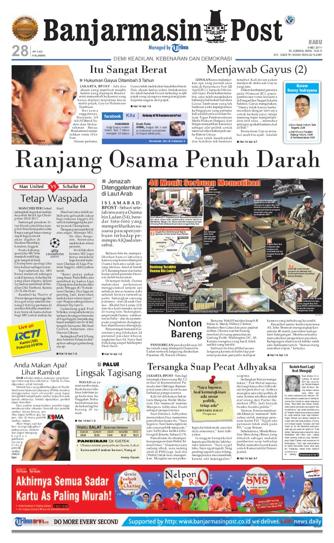 Banjarmasin Post Edisi Cetak Rabu 4 Mei 2011 By Issuu Produk Ukm Bumn Kue Sagu Ikan Haruan