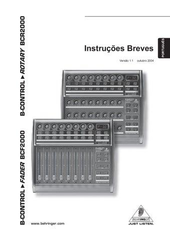 Controlador MIDI/USB com 8 Faders Motorizados - Manual Sonigate by ...