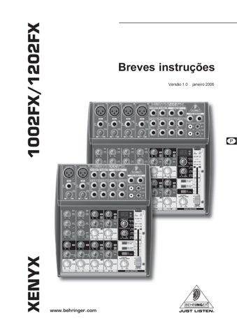 Mesa de Mistura de 10-Entradas 2-Bus Behringer - Manual Sonigate ...