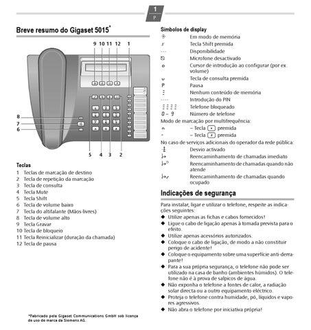Siemens euroset 5015 manual