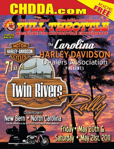 47e24f8fd MAY 2011 - ISSUE 154 by The Carolinas' Full Throttle Magazine - issuu