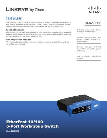 switch 5 portas 10 100mbps linksys ezxs55w manual sonigate by rh issuu com Linksys Ethernet Switch Linksys Support