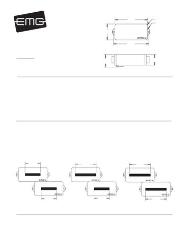 Pick-ups para Baixo EMG PJ-X Set - Manual Sonigate by ... on emg wiring guide, emg solderless 3-way switch, emg strat wiring diagrams, emg wiring diagrams 2 volume 3-way, emg sa single coil pickups, emg p bass wiring diagram, emg wiring harness diagram, emg wiring diagram 5 way to, emg active bass pickup diagram, emg wiring kit,
