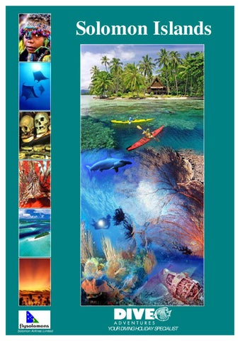 Dive Adventures Solomon Islands Holidays, by TravelRope by