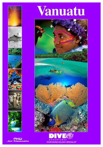 Dive Adventures Vanuatu Holidays, by TravelRope by TravelRope - issuu