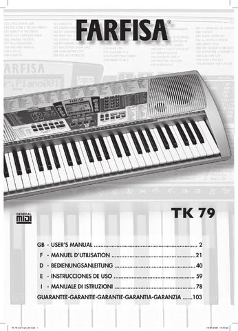 teclado digital farfisa tk79 manual sonigate by sonigate issuu