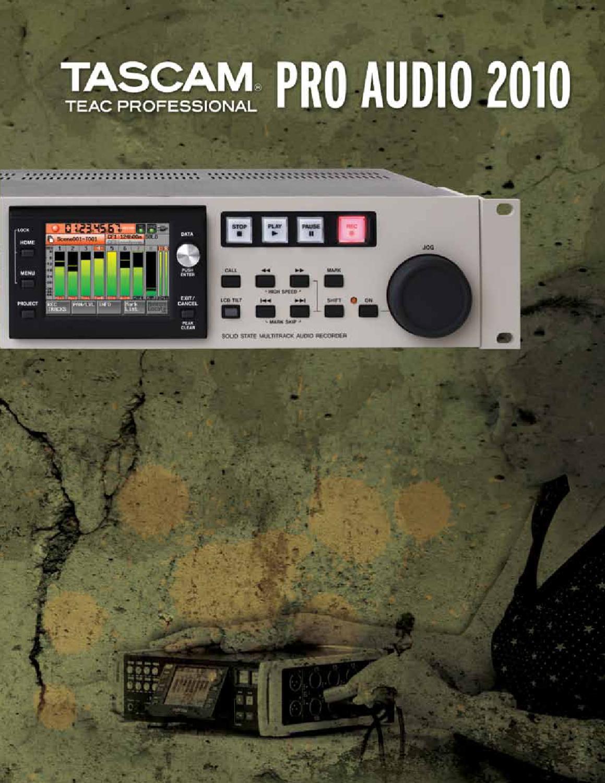 Manual Mesa de Mistura Digital TASCAM DM-4800 [SONIGATE] by ...