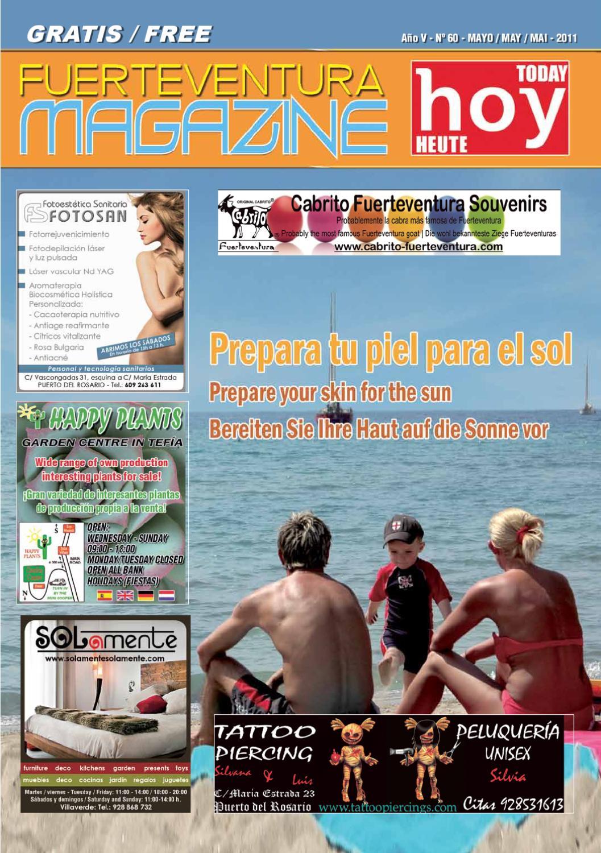 Fuerteventura Magazine Hoy Nº 60 Mayo 2011 By