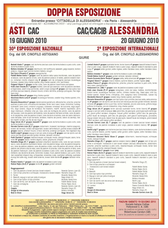 Inc aprile 2010 by enci ente nazionale cinofilia for Cane da pastore della russia meridionale