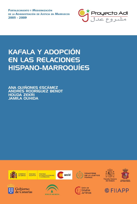Kafala Y Adopción En Las Relaciones Hispano Marroquíes By