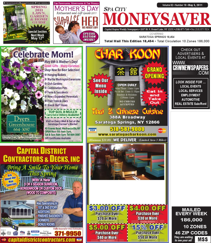 Spa City Moneysaver 050511