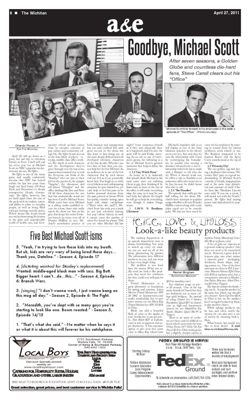 April 27, 2011 by The Wichitan - issuu
