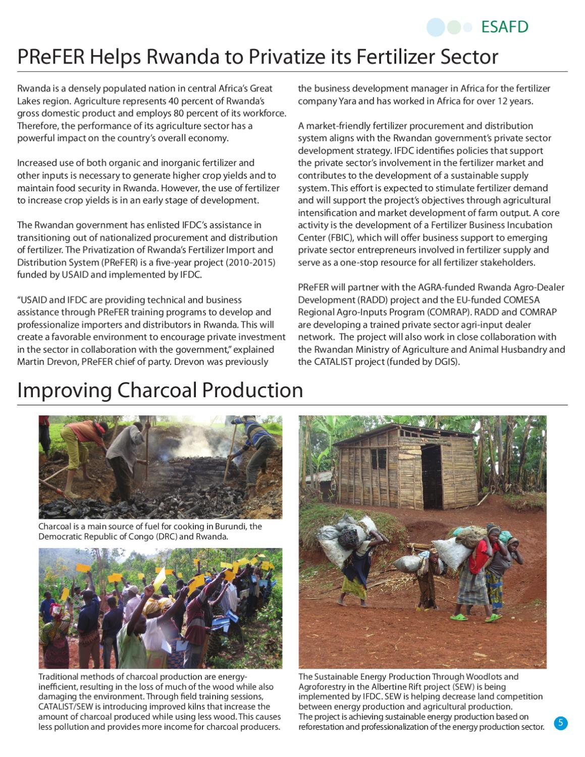 Improving Charcoal Production