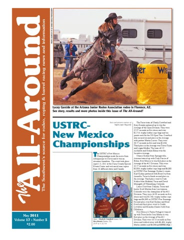 edddc93b0190e The All Around-May 2011 by Western Sports Publishing - issuu