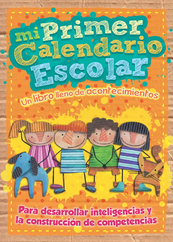 Calendario Para Ninos De Kinder.Mi Primer Calendario Escolar By Rita Munoz Issuu