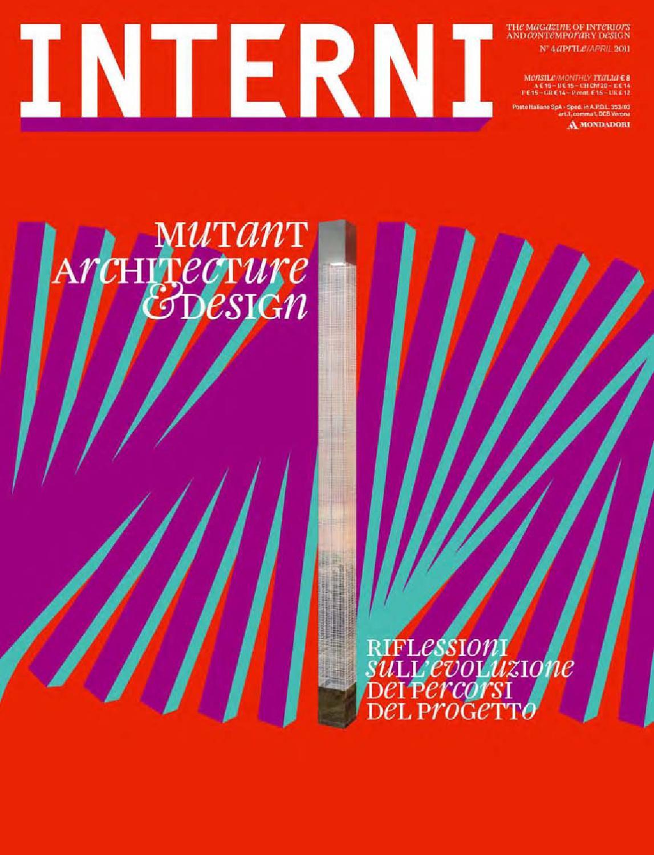 innovative design 079f0 fb264 Interni Magazine 610 April 2011 by Interni Magazine - issuu