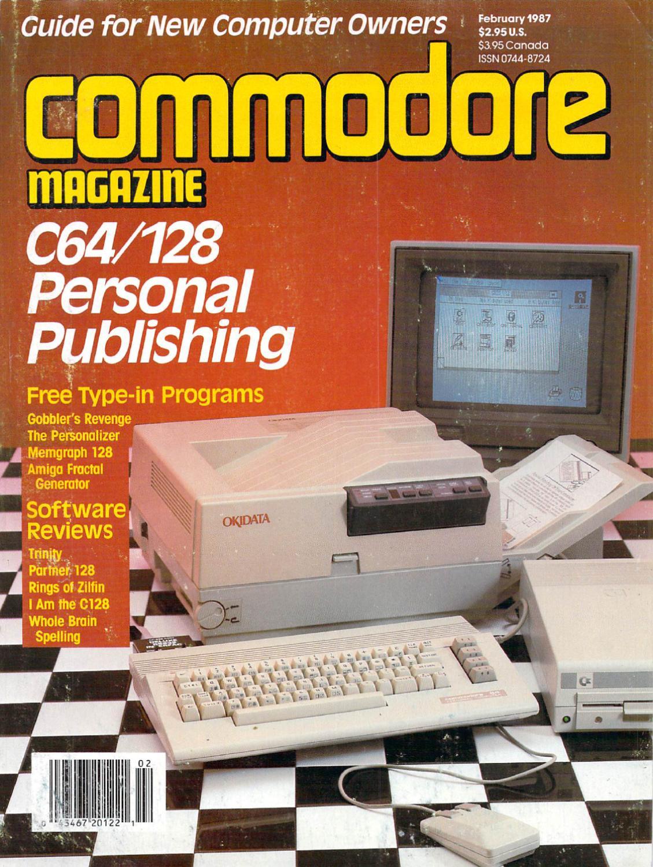 4f428804de53 Commodore Magazine Vol-08-N02 1987 Feb by Zetmoon - issuu