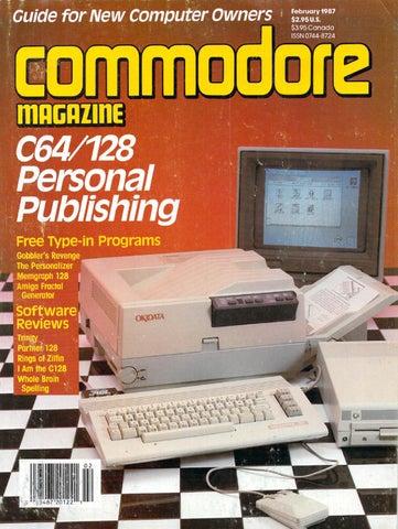 0bdeb9bf70af58 Commodore Magazine Vol-08-N09 1987 Sep by Zetmoon - issuu