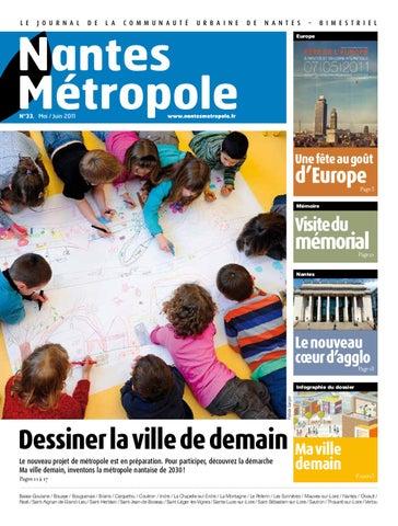 Journal Nantes Metropole N 33 Mai Juin 2011 By Nantes Metropole