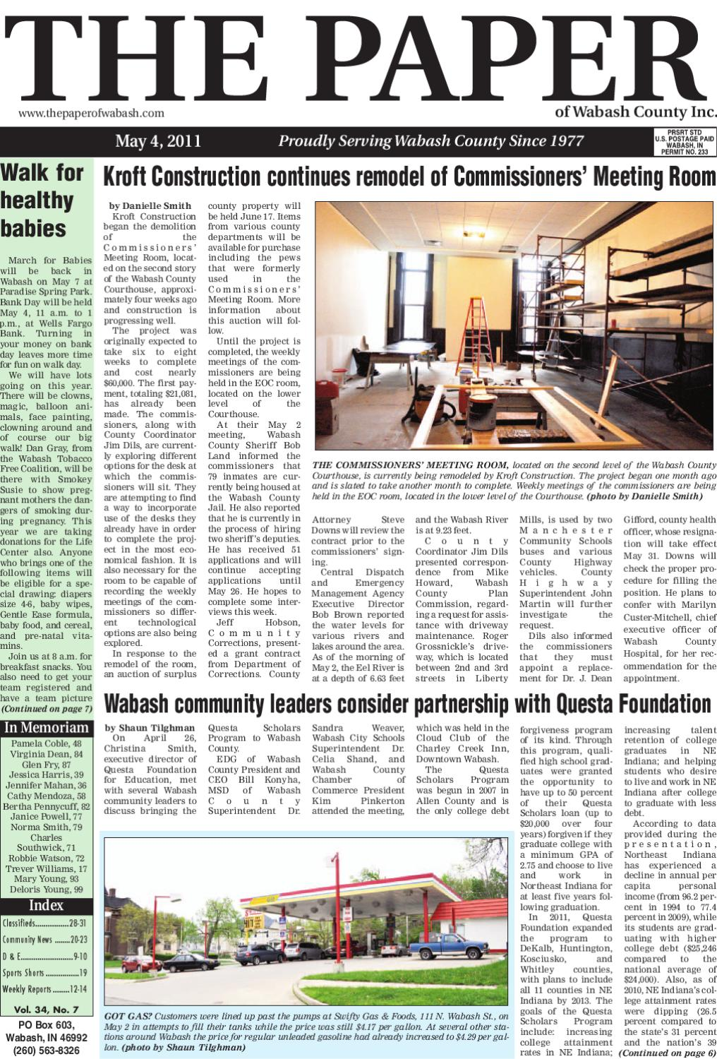 The Paper of Wabash County by The Paper of Wabash County - issuu