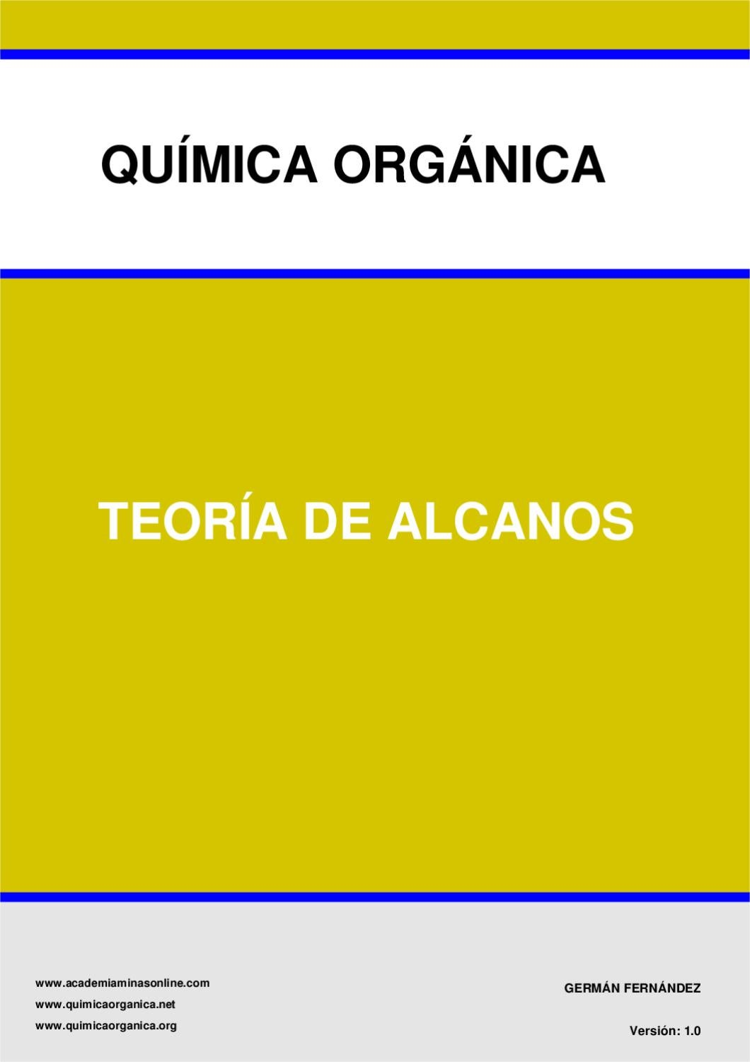 Alcanos Quimica By Gabriel ángel López Issuu