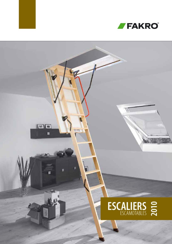 Echelle de grenier Fakro LWK 55 x 111 x 280 Comfort Plus