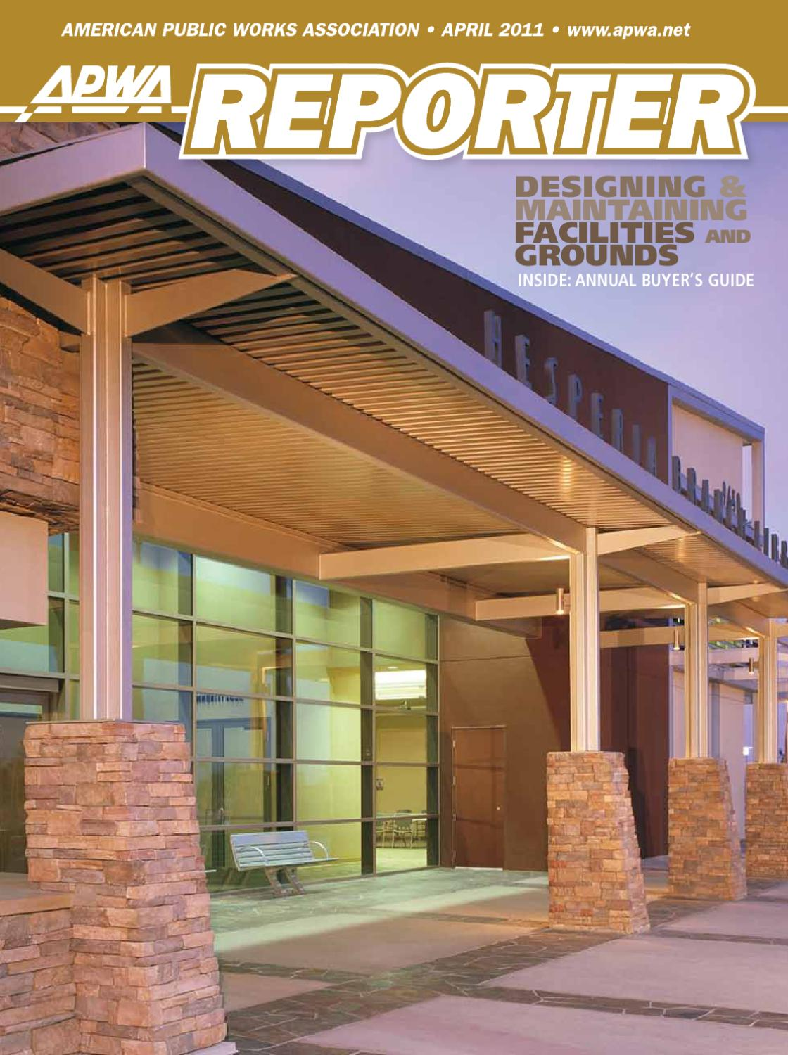 APWA Reporter, April 2011 issue by American Public Works Association ...