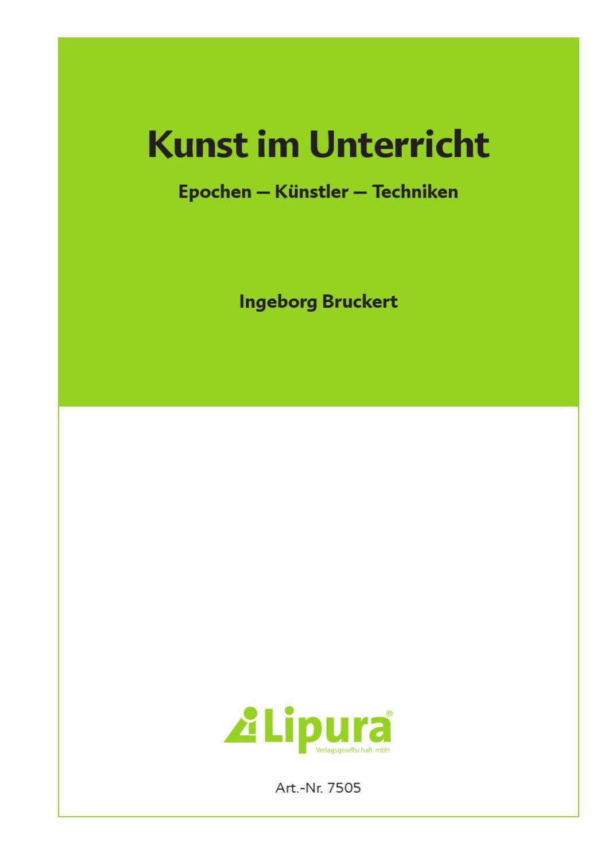 Lipura Kunst im Unterricht by Inred Werbeagentur - issuu