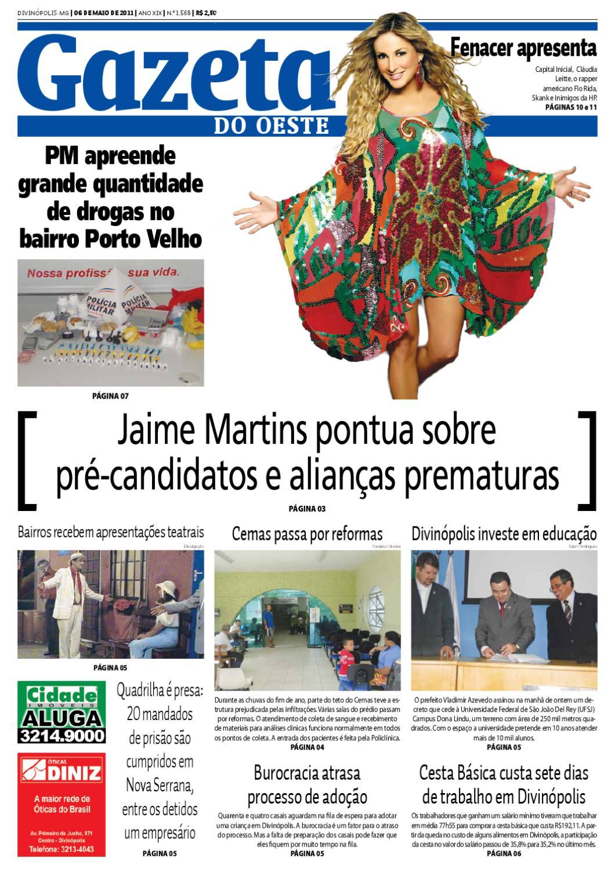 6a83d9f1a5745 Gazeta do Oeste - Edição 1568 by Portal G37 - issuu