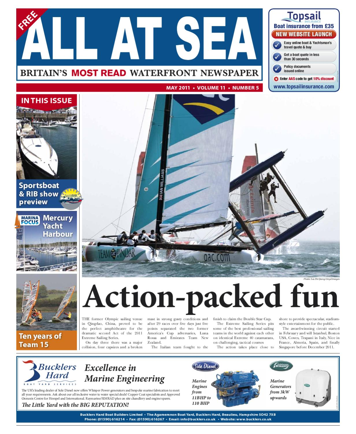 All At Sea Preview By Issuu Bayliner Capri Volvo Penta Fuel Filter Location