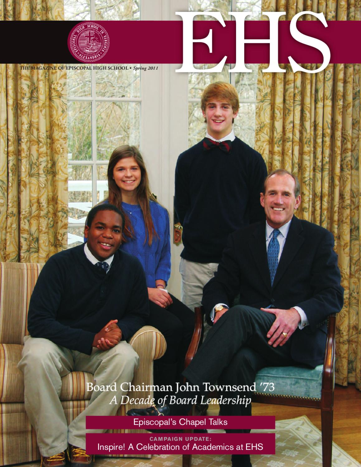 Spring 2011 EHS: The Magazine of Episcopal High School by Episcopal High  School - issuu