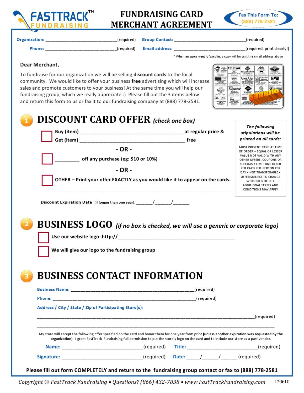 Discount Card Merchant Agreement by Harold Tan - issuu