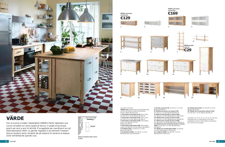 Awesome Mobili Cucina Ikea Credenza Acciaio Images