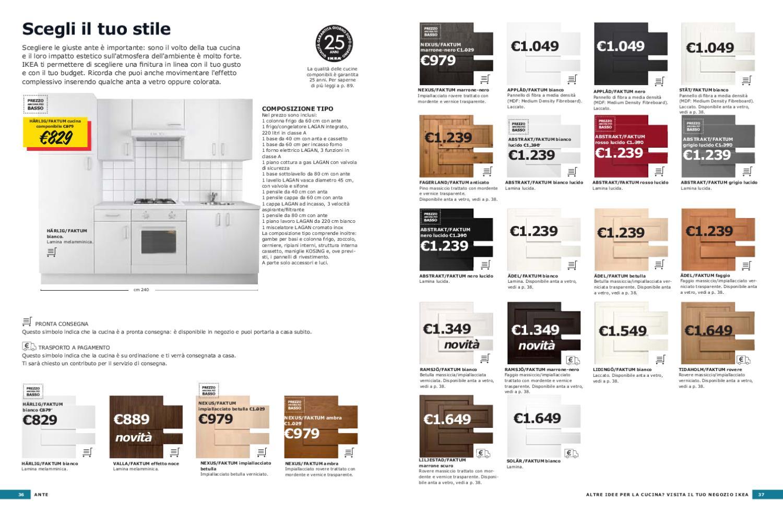 Faktum Cucine Componibili.Il Nuovo Catalogo Ikea Speciale Cucine By Mobilpro Issuu