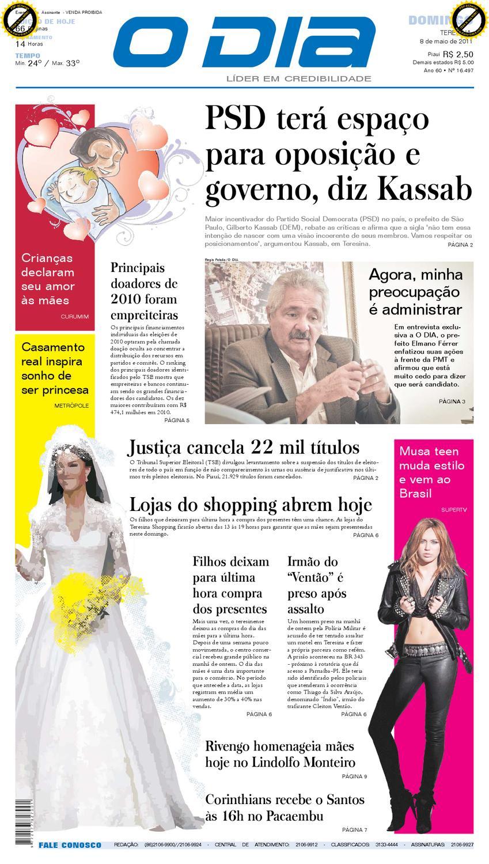 487f0cd61 JornaL o dia by Jornal O Dia - issuu