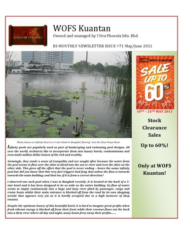 WOFS Kuantan Bi-Monthly Newsletter - May/June 2011 by Eug