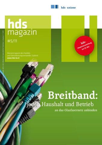 """hds magazin 5/11 - """"Breitband: jeden Haushalt und Betrieb an das ..."""