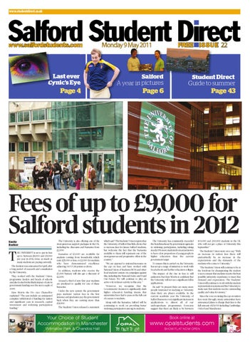 dce48b7fc016 SSD  Issue 22 by University of Salford Students  Union - issuu
