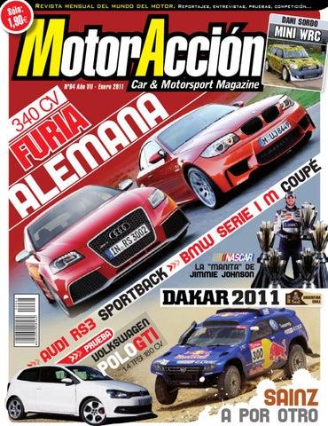 MotorAcción 64 - Enero 2011 by Motoraccion Revista mensual - issuu e9f9bcf1fd6a6