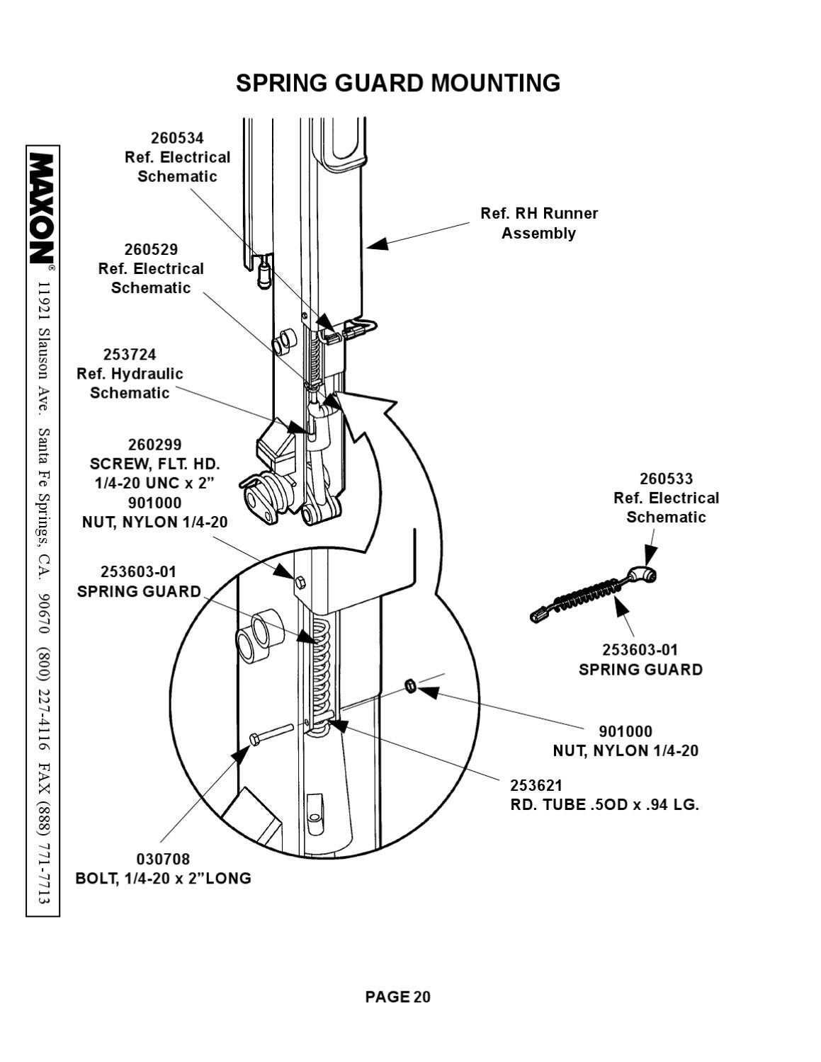 Maxon Bmr Series By The Liftgate Parts Co Issuu Wiring Diagram