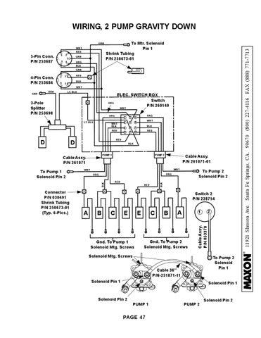 Waltco Pump Wiring Diagram on