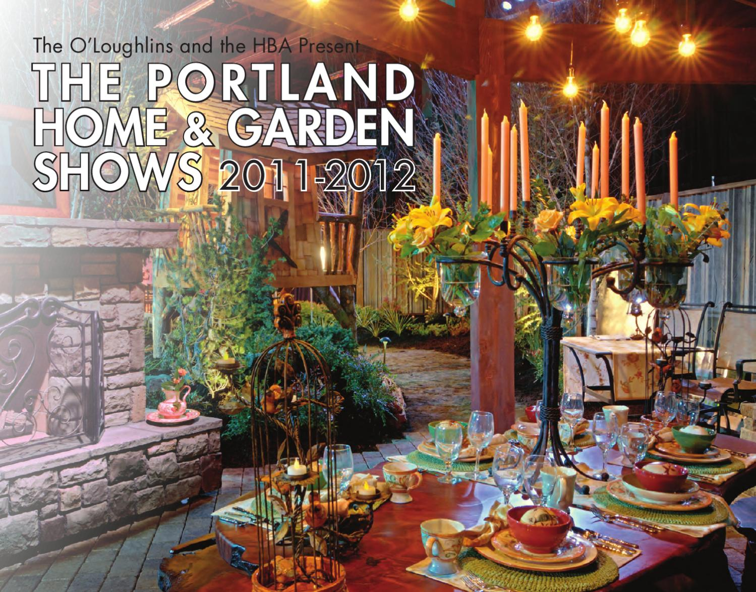 Portland Home Garden Shows Exhibitor Brochure By O