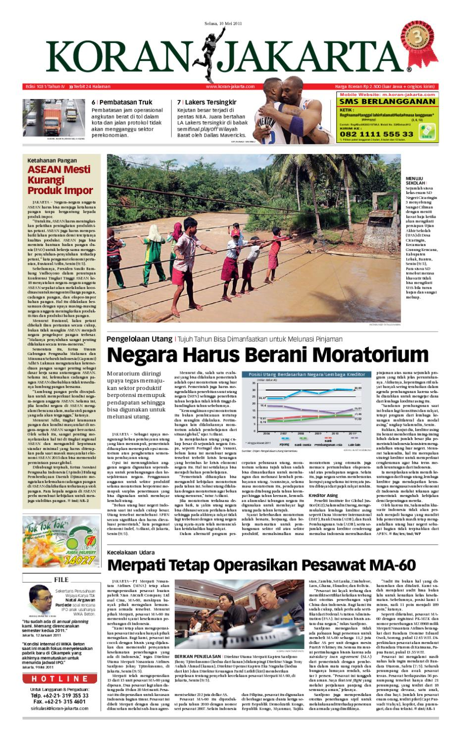 Edisi 1031 10 Mei 2011 By Pt Berita Nusantara Issuu Kunci Ring Pas Only Crv Satin Finished Tomeco 13m M