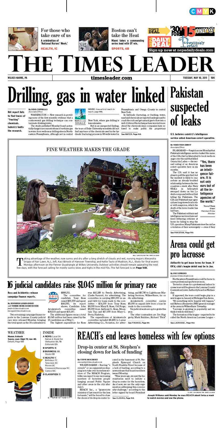 Times Leader 05-10-2011 by The Wilkes-Barre Publishing Company - issuu