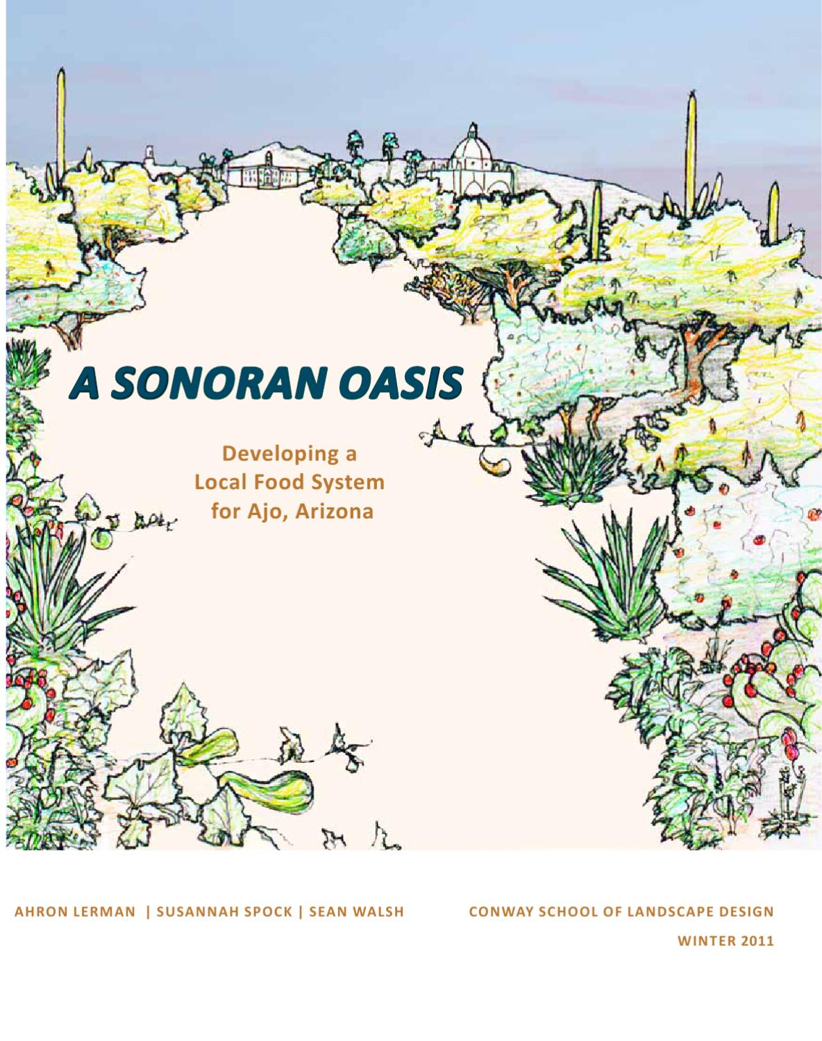 A Sonoran Oasis: Developing a Local Food System for Ajo ...