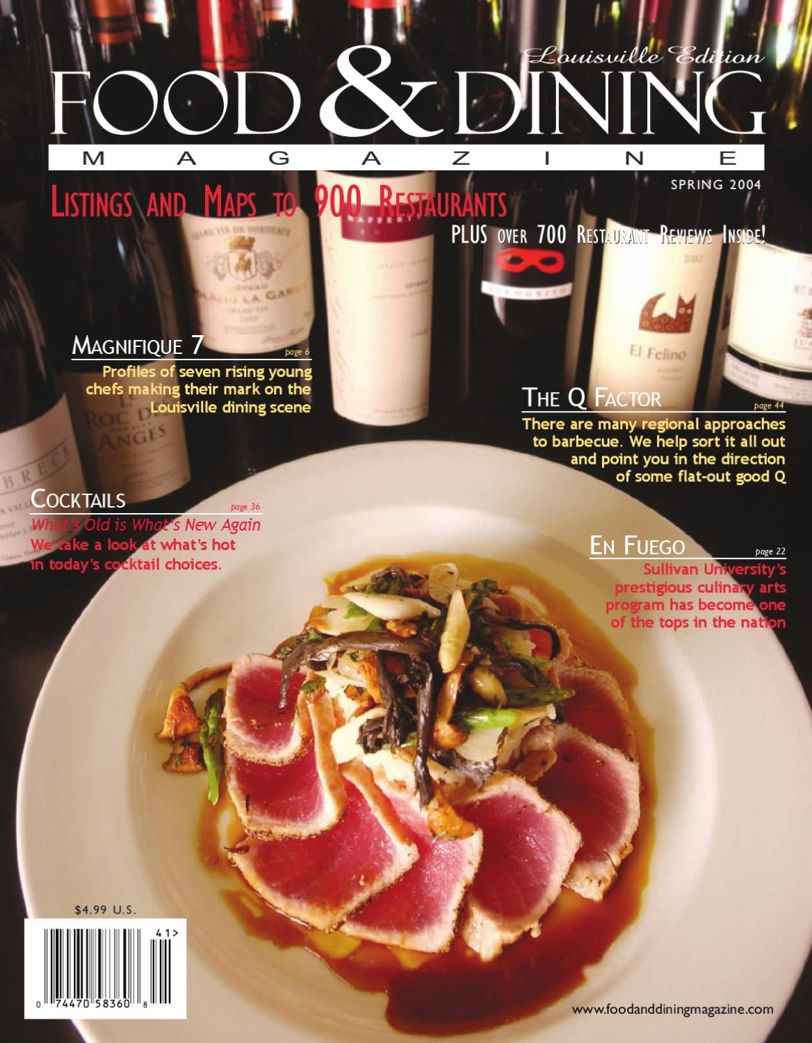Spring 2004 Vol 4 By Food Dining Magazine Issuu