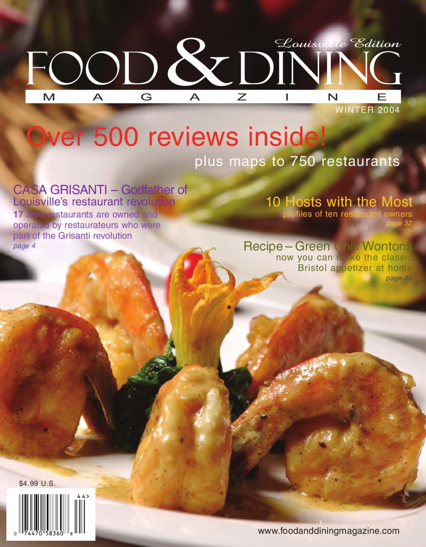 summer 2004 vol 05 by food u0026 dining magazine issuu